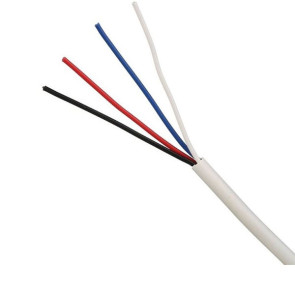 X2 4 Core 14/020 Security Cable 300m White