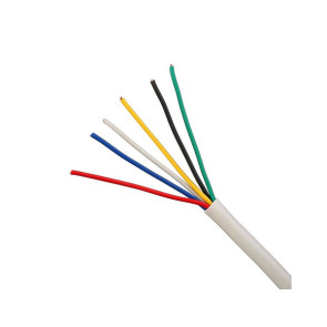 6 Core 14/020 Security Cable 250m White
