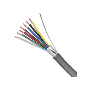 7 Core 14/020 Shielded Security Cable 250m Grey