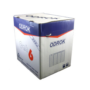 Odrok LC62 CAT6 LAN Cable Grey 305m Pull Pack