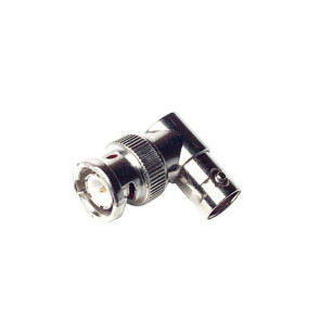BNC Male to BNC Female Right Angle Adapter