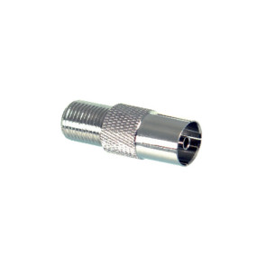 PAL Female to F Type Female Adapter - 50 Pack