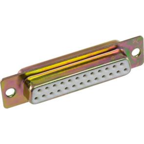 "DB25 ""D Way"" Female Solder Socket Connector"