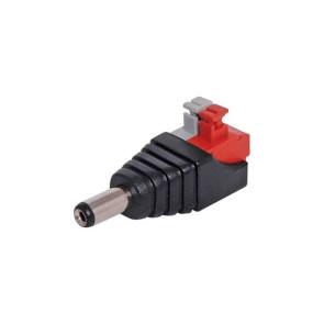 2.1mm Spring Terminal DC Power Line Plug
