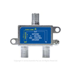 Jonsa Diplexer Satelite & FTA F-Type 30vDC 2A DSTD/MS