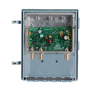 Kingray Edge UHF/VHF F-Type Masthead 35db  LTE / 4G Amp MHW35F