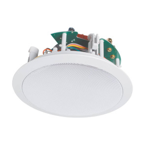 "Opus One 8"" 120w 2 Way Round Platinum Ceiling Speaker C0857"