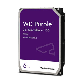 "Western Digital Purple Surveillance WD60PURZ 6TB 3.5"" Internal Hard Drive (Hikvision)"