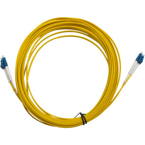LC-LC OS1 Single Mode Duplex LSZH Fibre Patch Lead 10m