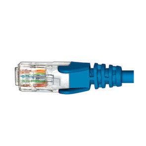 Cabac CAT6 Patch Lead Blue 2m PLC6BL2