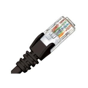 Hypertec CAT6 Patch Lead Black 1m HCAT6BK01