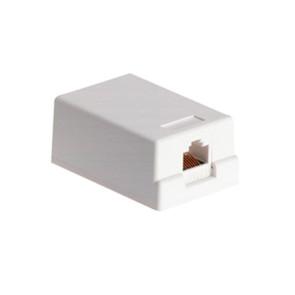 Cabac Surface Mount Box 1 Way CAT6 SMBC61