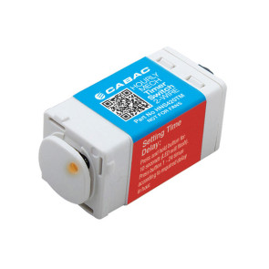 Cabac S-Click Single Mech Hourly Timer Switch 2 Wire 240V 1.7A HNS420TM