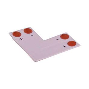 LED Strip L Joiner for Single Colour 5050 LED Strips 4pk X3244