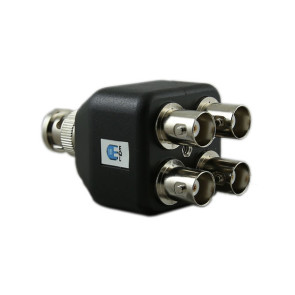4 Port BNC Splitter EC4BNC