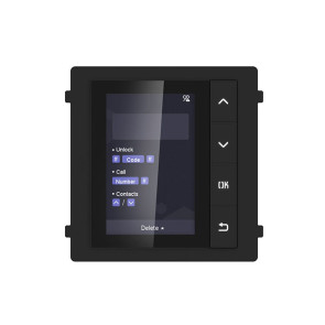 Hikvision Video Intercom Name Scroll Display Module DS-KD-DIS