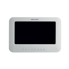 "Hikvision Indoor Room Station 7"" Touch Screen / 800 x 400 / WiFi /  White DS-KH6310-WL"