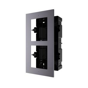 Hikvision Intercom Door Station Gang Box Flush Mount for 2 Module DS-KD-ACF2-P