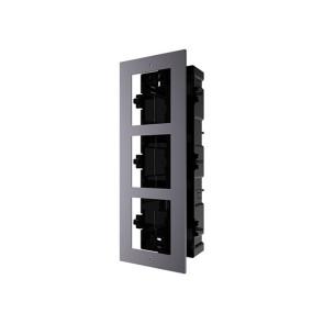 Hikvision Intercom Door Station Gang Box Flush Mount for 3 Module DS-KD-ACF3-P
