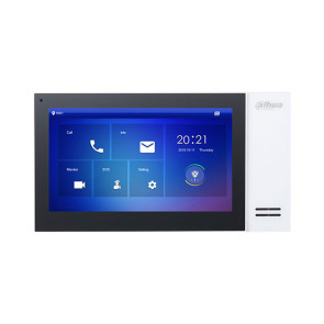 Dahua 7 inch Touch Screen IP Indoor Monitor White DHI-VTH2421FW-P
