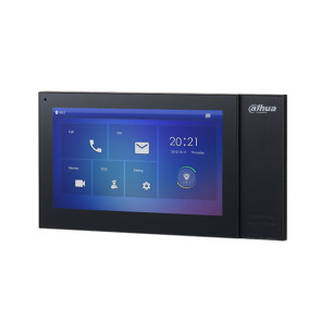 Dahua 7 inch Touch Screen IP Indoor Monitor Black DHI-VTH2421FB-P