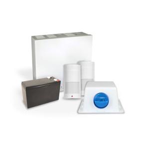 Paradox SP7000 Kit, 525DMs WP Siren/Strobe, (No Keypad) PK-SP7525X