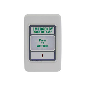 Trojan Em Rex Resettable Emergency Door Release White