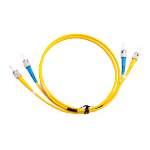ST-ST OS1 Single Mode Duplex LSZH Fibre Patch Lead 0.5m