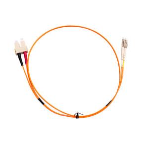 SC-LC Duplex OM1 Multimode Fibre Patch Lead 1m