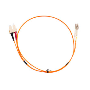 SC-LC Duplex OM1 Multimode Fibre Patch Lead 5m