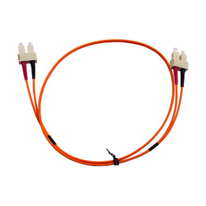 SC-SC Duplex OM1 Multimode Fibre Patch Lead 0.5m
