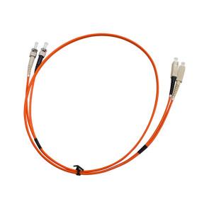 ST-SC Duplex OM1 Multimode Fibre Patch Lead 1m