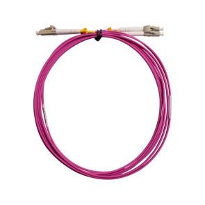LC-LC Duplex OM4 Multimode Fibre Patch Lead 1m
