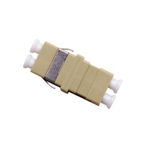 LC Multimode OM1 Duplex Thru Adaptor (6 Pack)