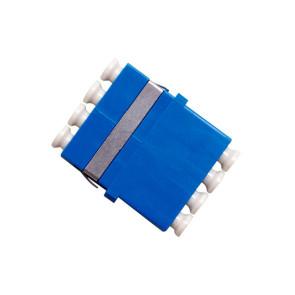 LC Singlemode Quad Thru Adaptor (6 Pack)